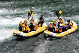 Turismo activo rafting