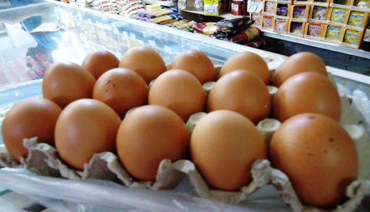 Precio del huevo supera el de la carne de res
