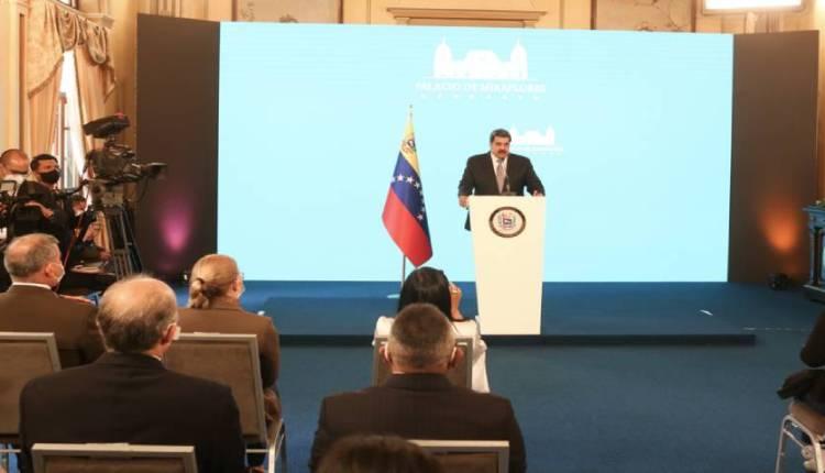 Nicolás Maduro rueda de prensa