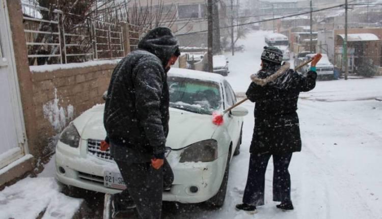 novena tormenta invernal en México