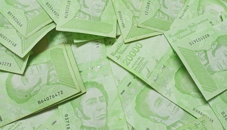 no aceptan billetes de Bs. 20 mil