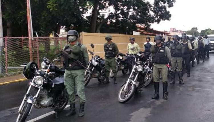 Zodi Monagas coordinó el despliegue de seguridad.