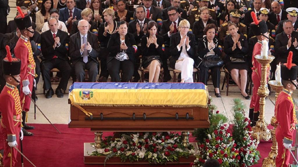 funeral Hugo Chávez Frías