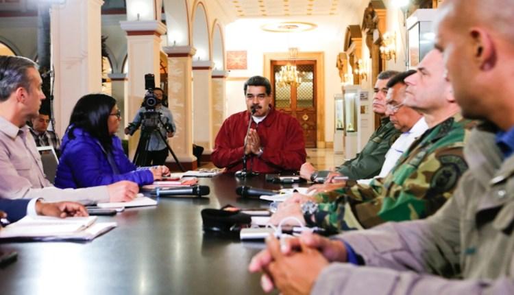 Maduro covid-19 en Venezuela