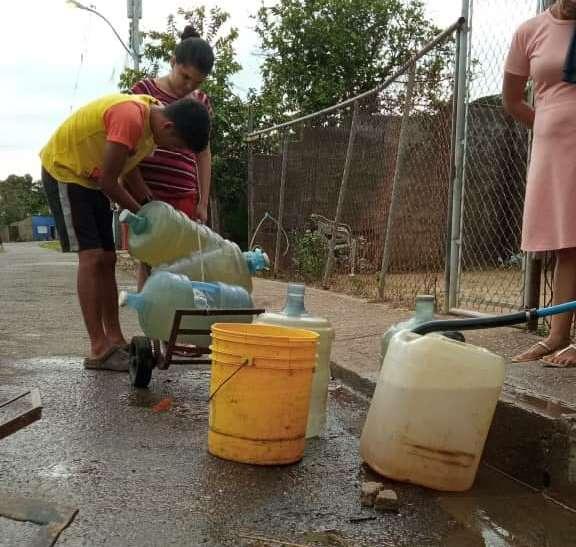 falta de agua maturín