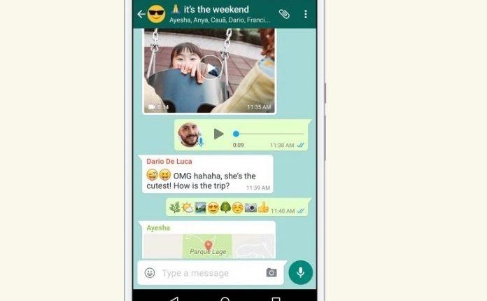 Los mensajes de WhastApp