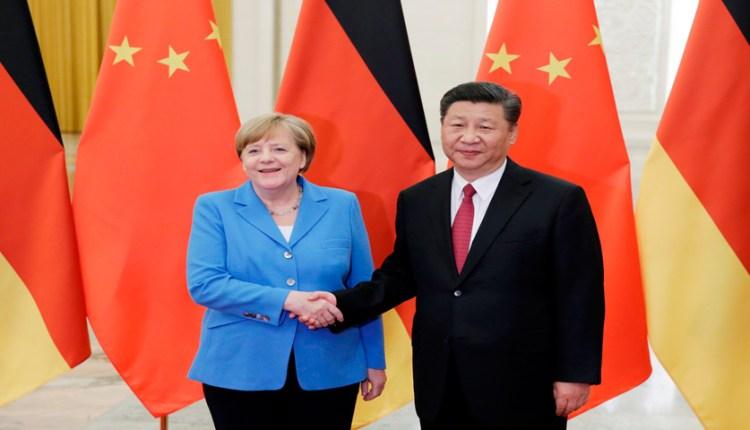 recientes tensiones China Alemania
