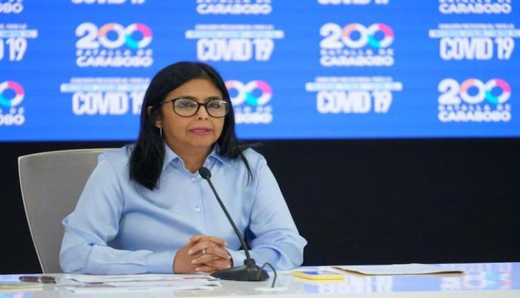 Covid-19 en Venezuela Delcy Rodríguez