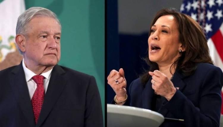 Lopez Obrador y Kamala Harris