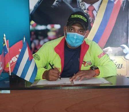 Maicavares firmó el convenio entre Transmonagas y la Universidad del Transporte