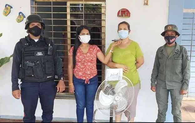 alcalde ordaz continua realizando entregas a los hogares de maturin 2
