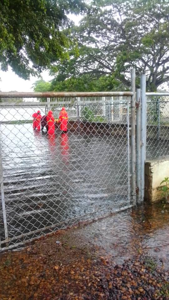 cinco sectores afectados por fuertes lluvias en maturin