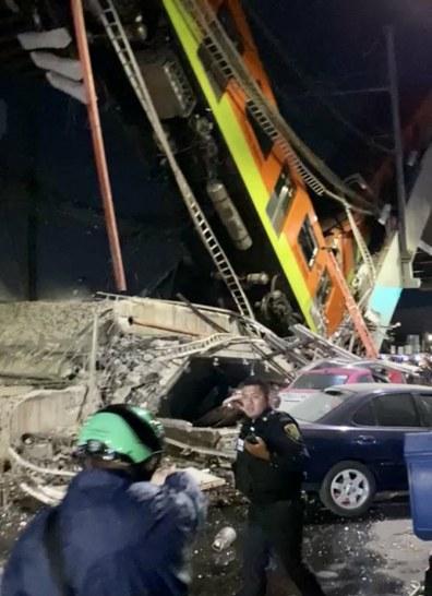desplome de puente en el metro de ciudad de mexico deja al menos 23 muertos