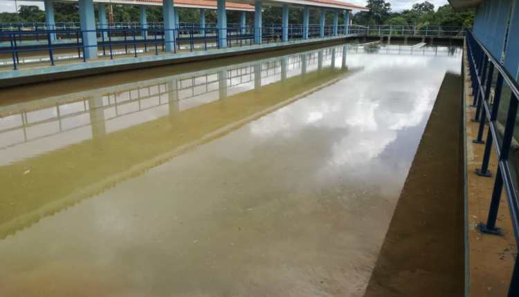 Planta del Bajo Guarapiche agua