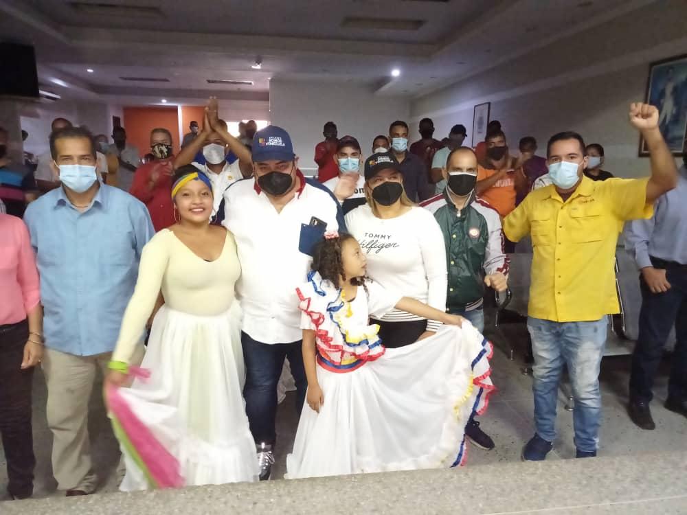 movimiento somos venezuela juramento estructura en municipio ezequiel zamora laverdaddemonagas.com acto