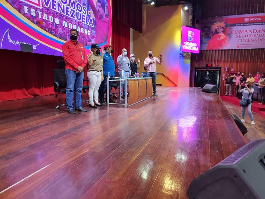 roberto messuti juramento al equipo politico de somos venezuela monagas 1