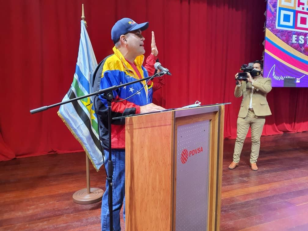roberto messuti juramento al equipo politico de somos venezuela monagas 2
