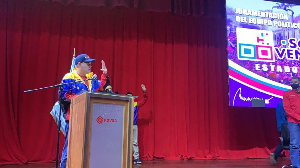 roberto messuti juramento al equipo politico de somos venezuela monagas 6