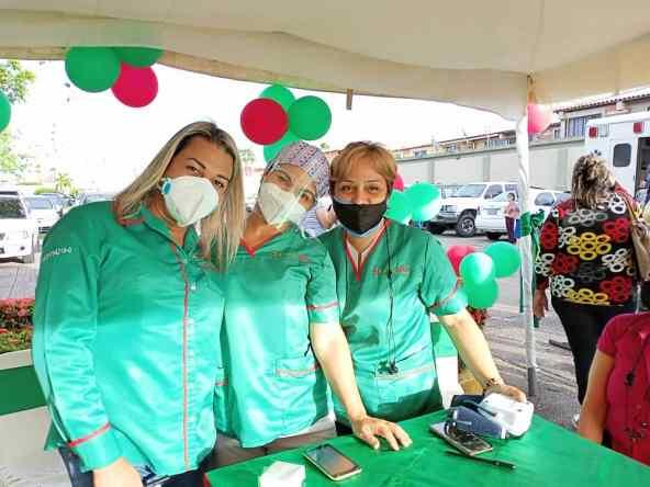 todo un exito jornada medica y de vacunacion organizada por farmadon y la drs laverdaddemonagas.com equipo de farmadon1