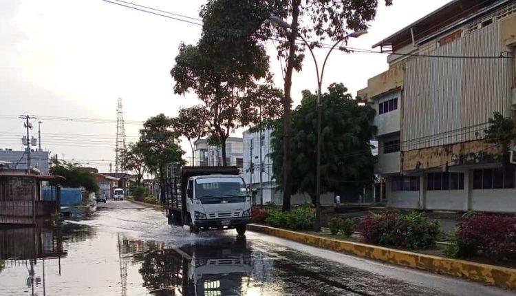 laguna avenida Luis del Valle García