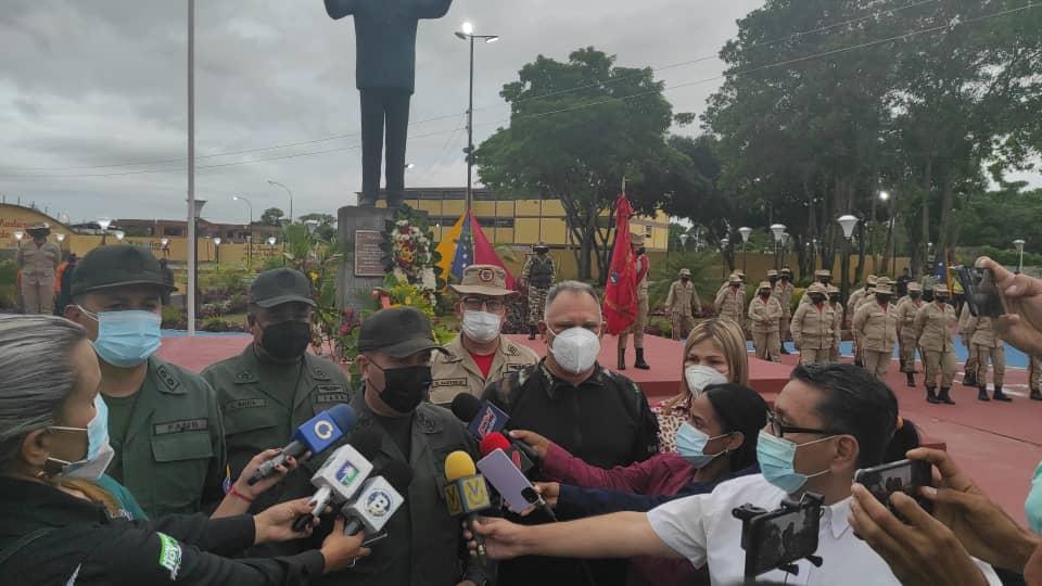 autoridades civiles y militares conmemoraron 76 anos del natalicio de hugo chavez laverdaddemonagas.com chavez 2