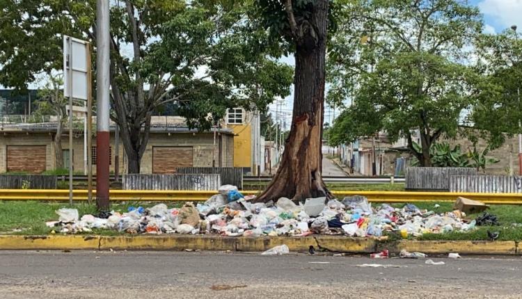 Basurero avenida Orinoco
