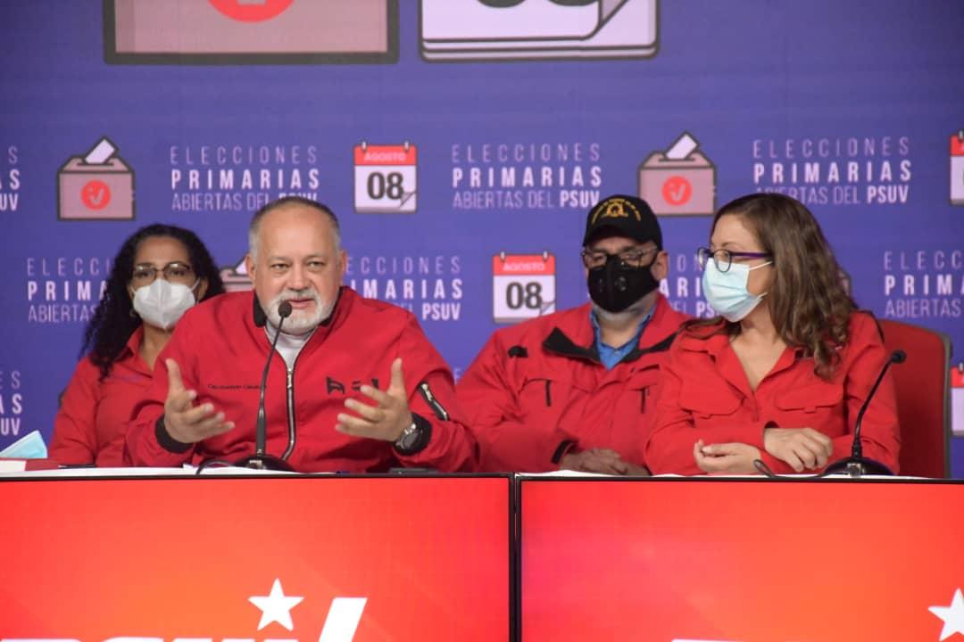 Cabello: Resultados del 21-N dirán hacia donde va el destino del país