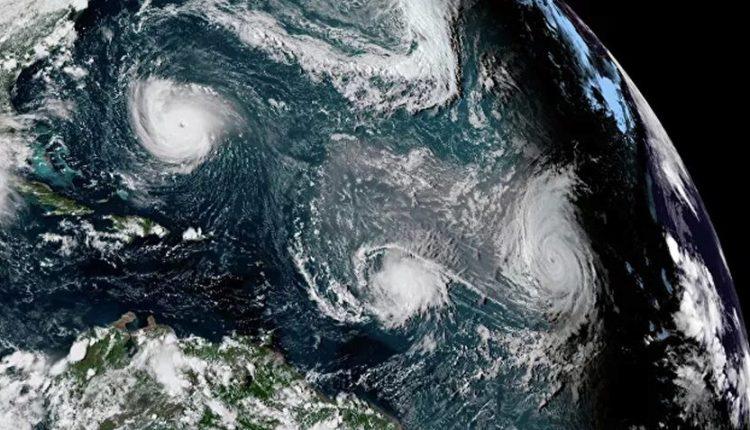 La tormenta tropical Elsa