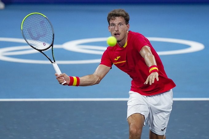 Pablo Carreño Novak Djokovic
