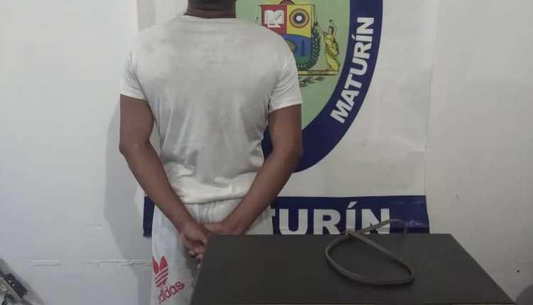 Polimaturín capturó sujeto en Campo Ayacucho