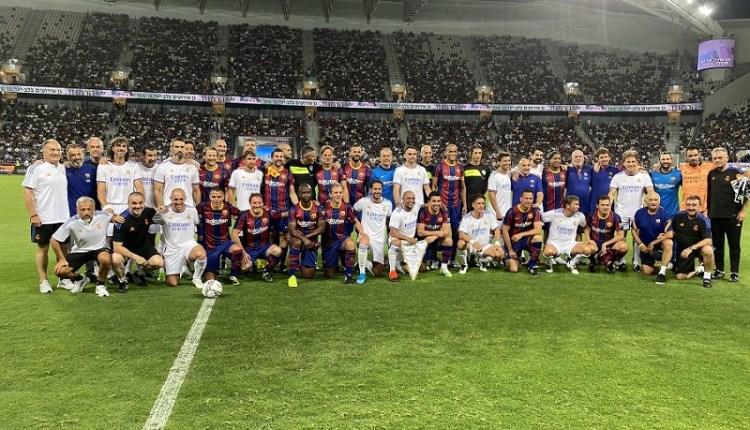 Real Madrid ganó al Barcelona