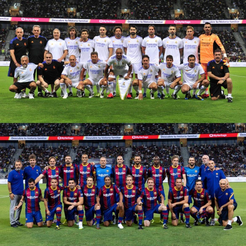 real madrid gano al barcelona el clasico entre leyendas realizado en israel laverdaddemonagas.com e6wwhesxoaeglph