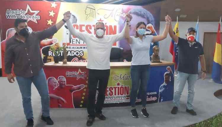 alcalde Ordaz juntos garantizaremos la victoria este 21N