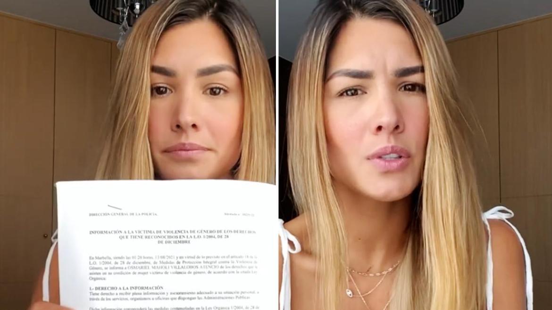 Animadora Osmariel Villalobos denunció maltrato físico por parte de su expareja