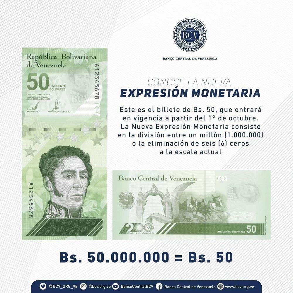 conoce los billetes del nuevo cono monetario laverdaddemonagas.com 232130353 892537014681947 8032422903027881339 n