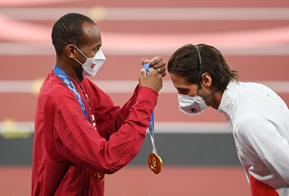 dos atletas comparten medalla de oro en los juegos olimpicos de tokio laverdaddemonagas.com 1488db90 f3ac 11eb 8fbf 1763e9fd7826