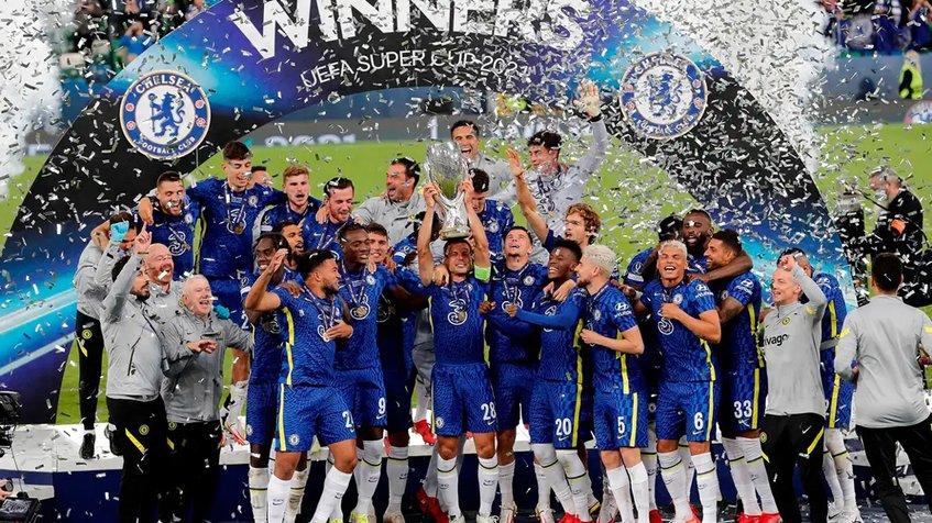 El Chelsea se coronó campeón de la Supercopa de Europa 2021