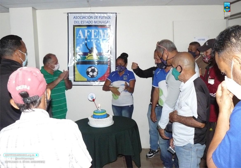 futbol monaguense celebra primer aniversario de su sede propia laverdaddemonagas.com 239770916 1694112387450814 2257398593468282594 n
