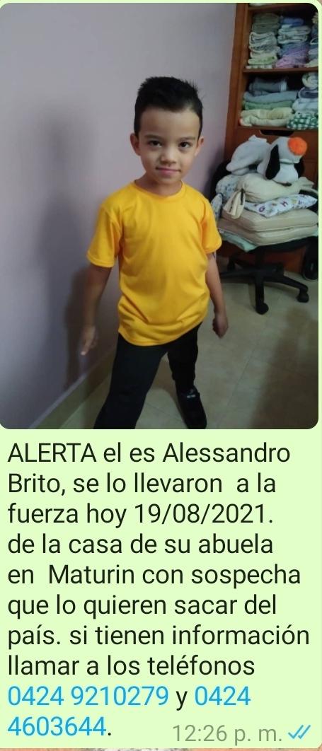 nino esta desaparecido luego que se lo llevaron a la fuerza del sector las garzas laverdaddemonagas.com whatsapp image 2021 08 26 at 3.55.59 pm