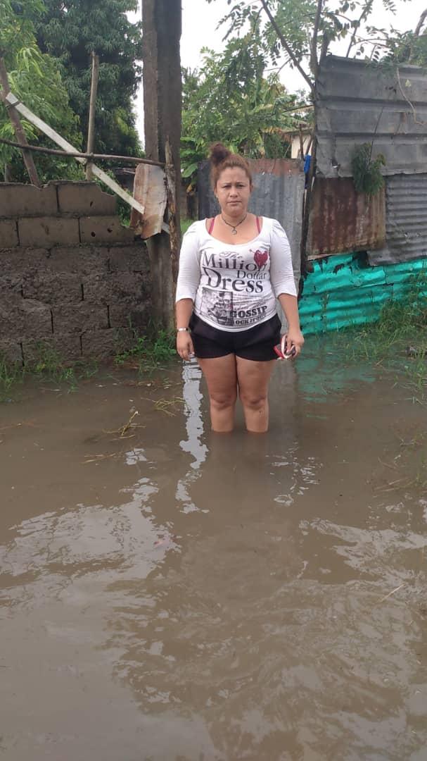 vecinos de el rosillo sufren a causa de las fuertes lluvias laverdaddemonagas.com afectada en el rosillo