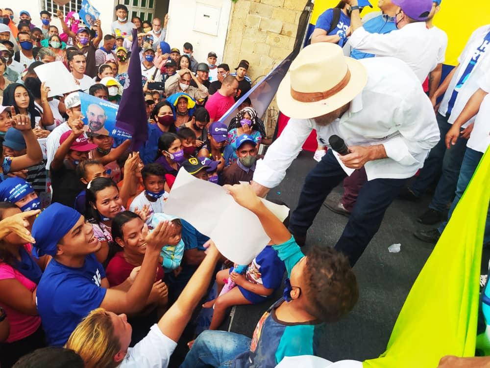 alianza democratica marcho y tomo la calle infante de maturin laverdaddemonagas.com mitin
