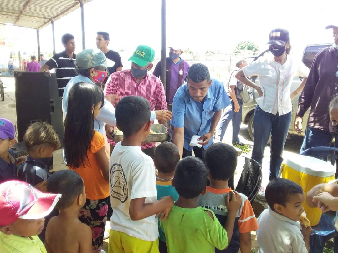 alianza democratica se movilizo con arepazo y operativo de salud laverdaddemonagas.com arepazo1