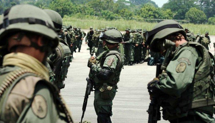 Militares en Cúcuta