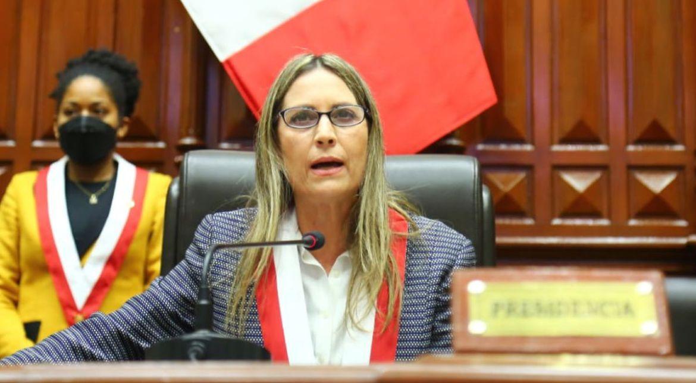 congresista de peru presento mocion de censura contra presidenta del congreso laverdaddemonagas.com