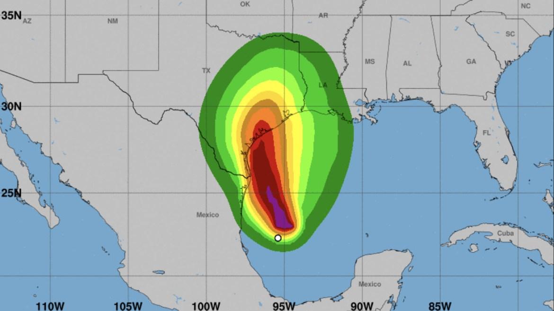 mexico y texas amenazadas por la tormenta nicholas laverdaddemonagas.com lluvias para mexico