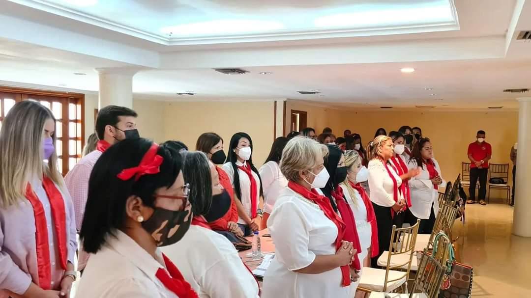 mujeres del psuv presentaron propuestas a luna y fuentes laverdaddemonagas.com mujeres 22