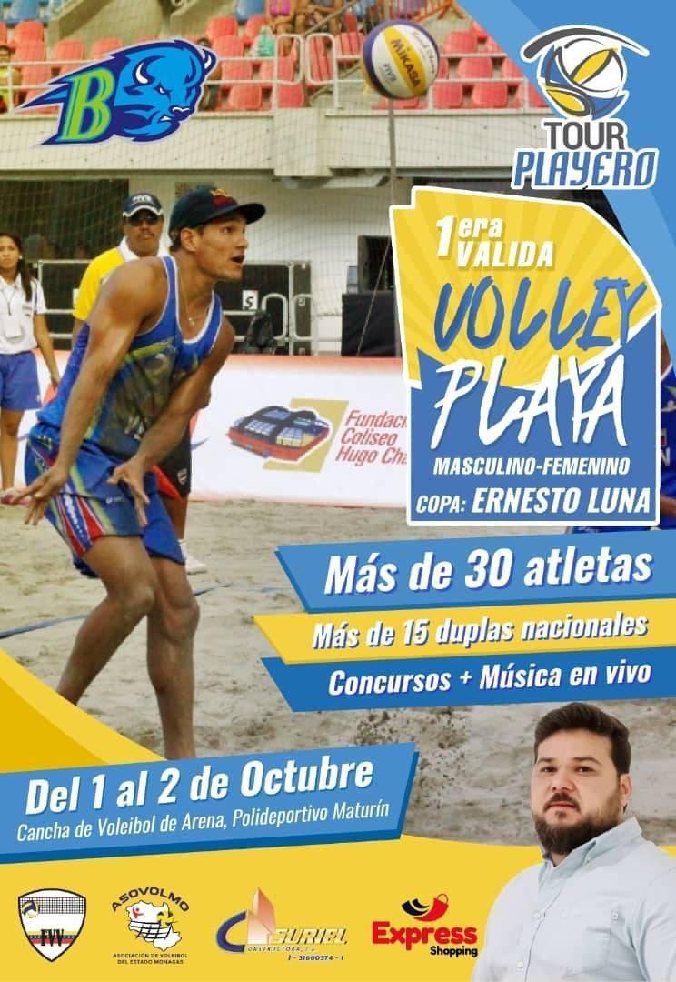 tour playero de voleibol regresa a monagas con la copa ernesto luna laverdaddemonagas.com tourplayeromas