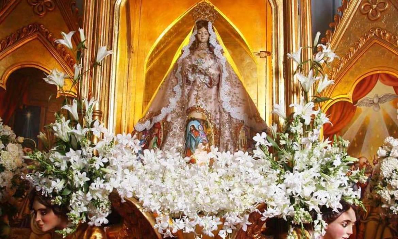 vallita viste su mejor vestido para celebrar su centenario laverdaddemonagas.com virgen del valle