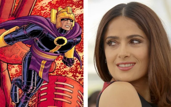 The Eternals: Salma Hayek reveals an amusing truth about your character