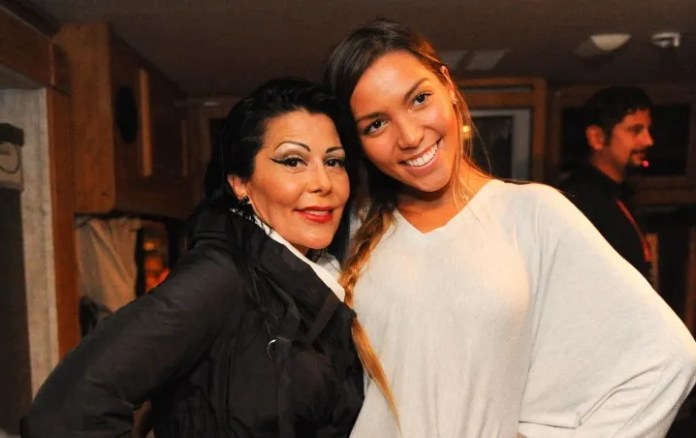 Frida Sofía y Alejandra Guzman does not support it Their faces the give away!